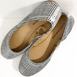 Ballet Flats Shoes Slip Ons Lucky Brand Women's 8